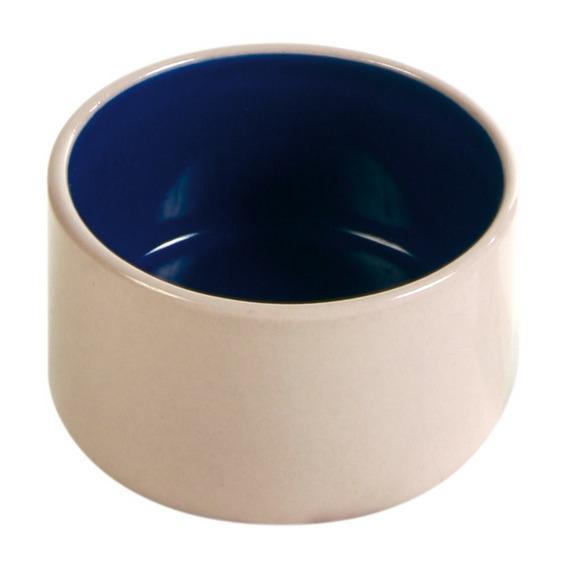 Trixie миска керамическая для грызунов с синим