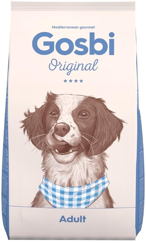 Фото - Gosbi Original Dog Adult для взрослых собак всех пород с курицей (3 кг) gosbi лакомство gosbits для взрослых собак с курицей 300 г