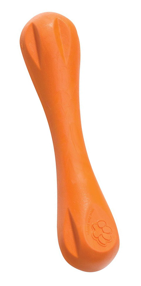 Игрушка для собак Hurley L Гантель 21 см оранжевая Zogoflex (1 шт)
