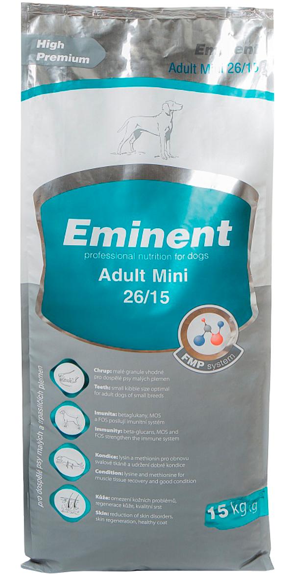 Eminent Adult Mini 26/15 для взрослых собак маленьких пород (15 кг)