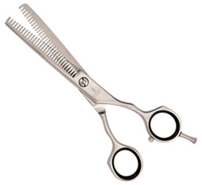 Mertz ножницы для груминга филировочные, 6 дюймов, 30 зубцов, Blue Line (1 шт)