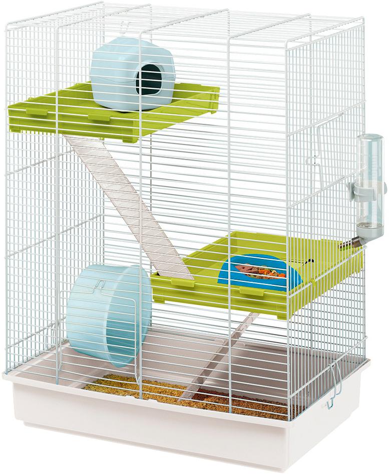 Клетка для хомяков Ferplast Hamster Tris 46 х 29,5 х 58 см (1 шт) недорого