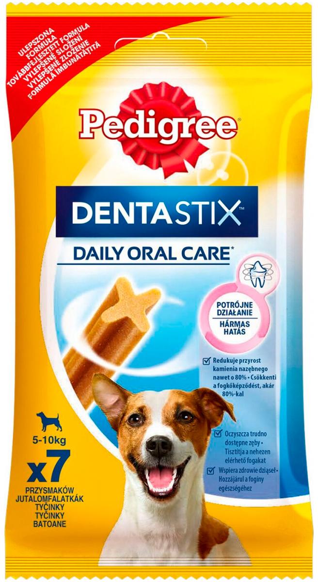 Лакомство Pedigree Denta Stix для собак маленьких пород для зубов (110 гр)