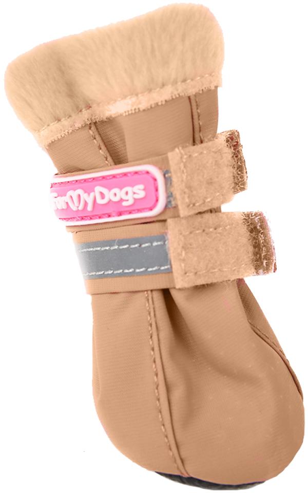 For My Dogs сапоги для собак коричневые Fmd640-2019 Bg (0)