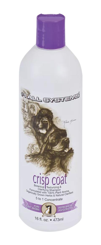 #1 All Systems Crisp Coat Shampoo шампунь для собак и кошек для жесткой шерсти (250 мл)