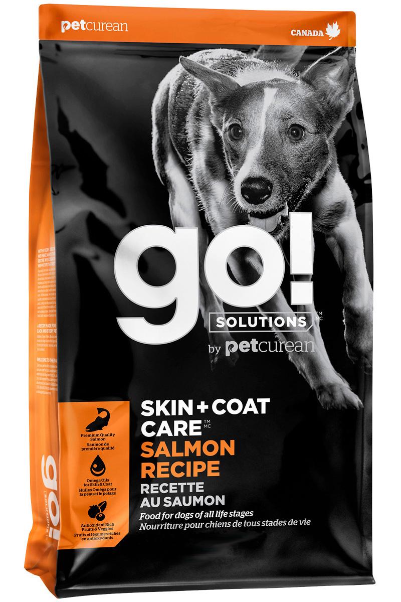 Купить со скидкой Go! Solutions Skin & Coat Care монобелковый для собак и щенков всех пород с лососем и овсянкой  (11,