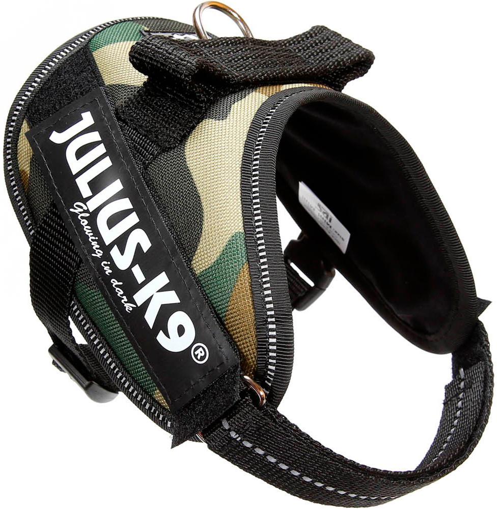 Шлейка для собак Julius-K9 Idc Powerharness Mini-Mini камуфляж 4 - 7 кг 40 – 53 см (1 шт) фото