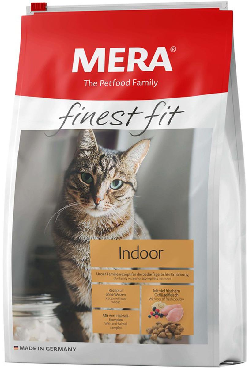 Mera Finest Fit Cat Indoor для взрослых кошек живущих дома с птицей (1,5 кг)