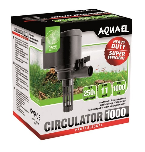 Помпа Aquael Circulator 1000, 1000 л/ч,