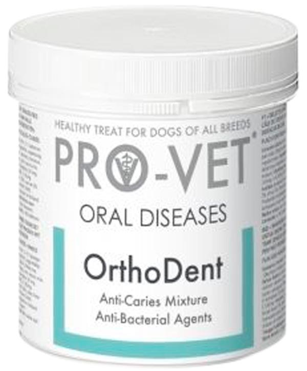 Лакомство Pro-vet Pastils Orthodent витаминизированное для собак для поддержания здоровья зубов 135 гр (1 шт)