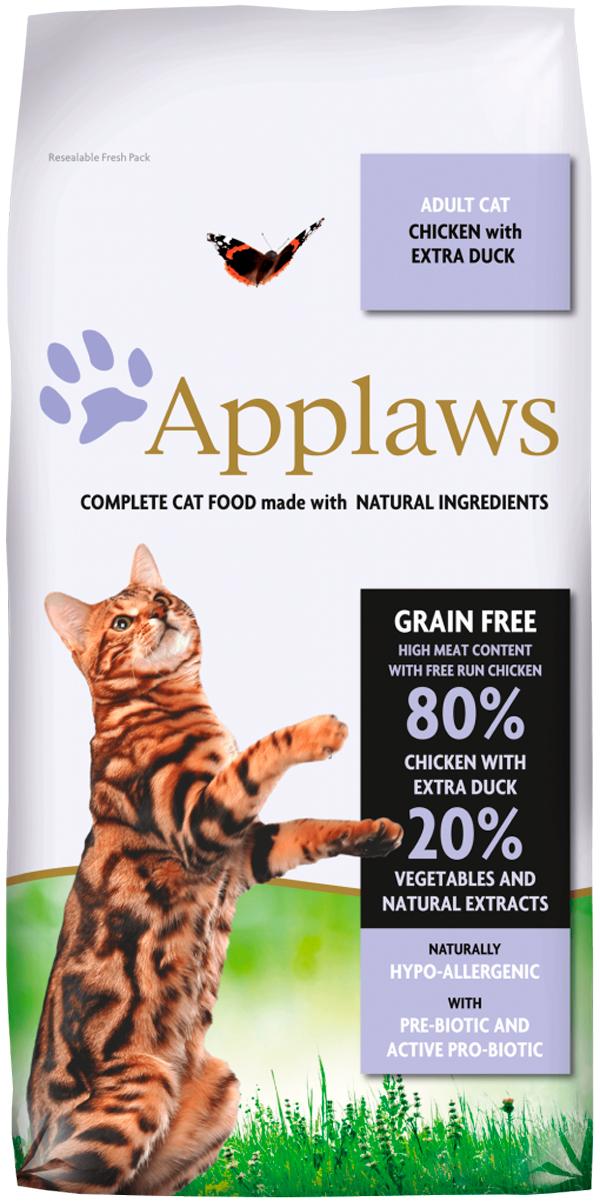 Applaws Adult Cat Chicken & Duck Grainfree беззерновой для взрослых кошек с курицей и уткой (7,5 кг)