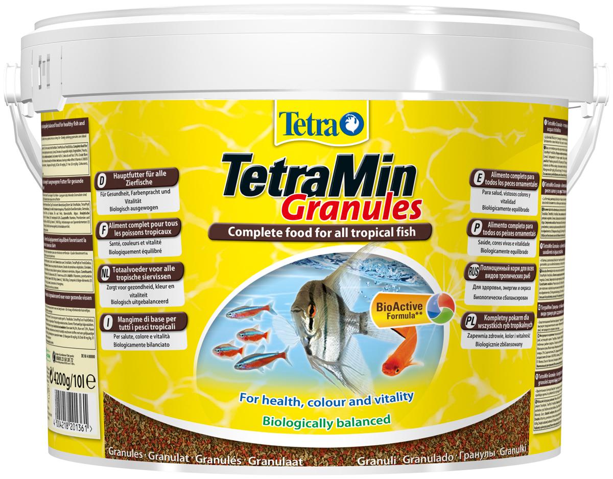 Tetramin Granules — Тетра корм-гранулы для всех видов рыб (15 гр) фото