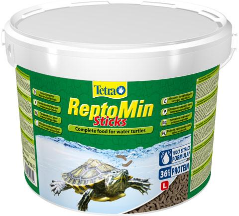 Tetra Reptomin Sticks корм палочки для водных черепах (500 мл) фото