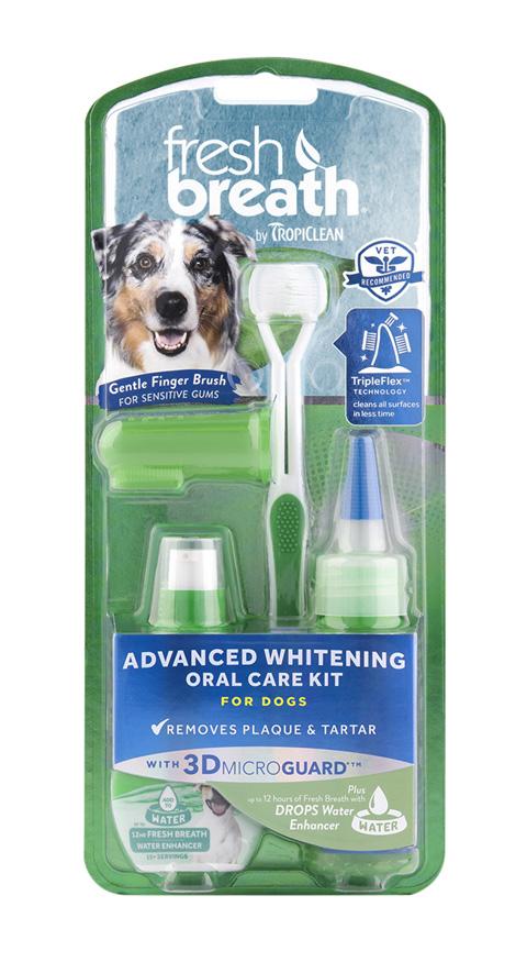 Tropiclean Fresh Breath Oral Care Kit Advanced