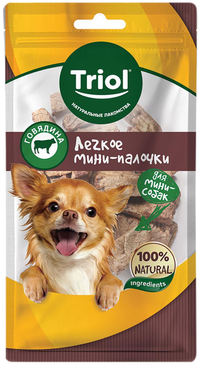 Лакомство Triol для собак маленьких пород мини палочки легкое говяжье 30 гр (1 шт)