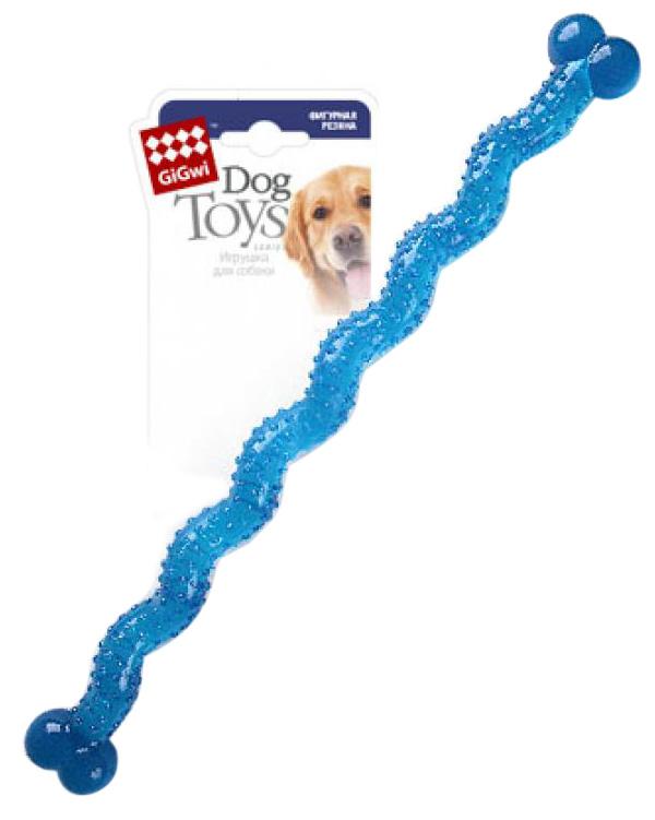 Игрушка для собак GiGwi Косточка резиновая длинная 48 см (1 шт)
