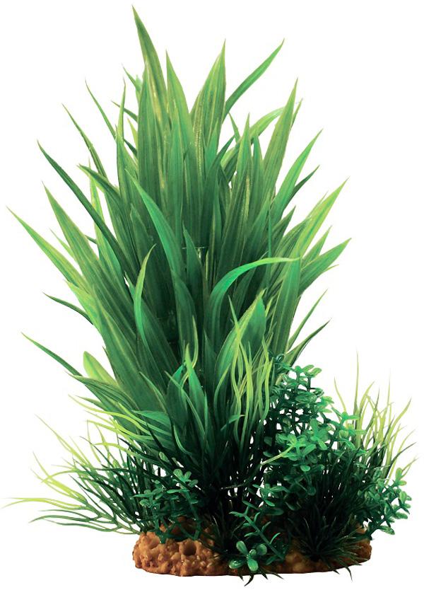 Композиция из пластиковых растений для аквариума Prime Pr-60201 20 см (1 шт) 0 pr на 100