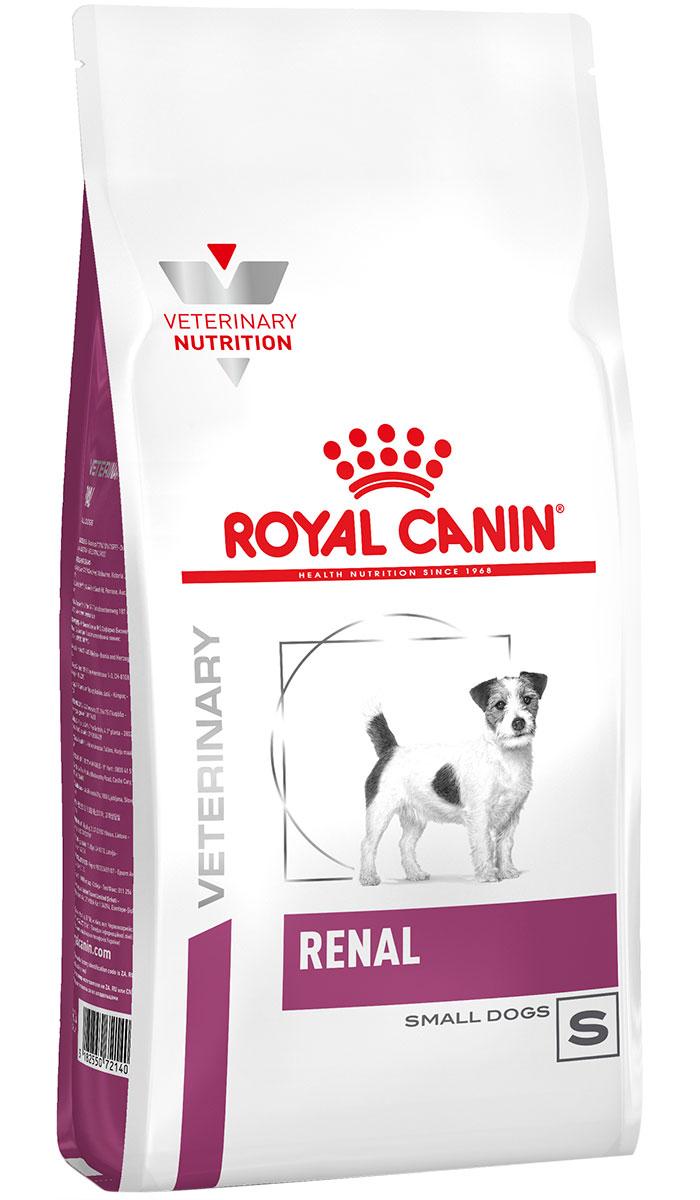 Royal Canin Renal Small Dog для взрослых собак маленьких пород при хронической почечной недостаточности (0,5 кг)