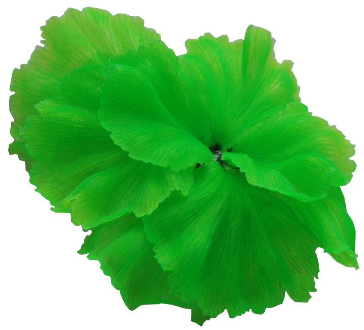 Декор для аквариума Коралл силиконовый Vitality зеленый 14 х 11 х 9 см (1 шт)