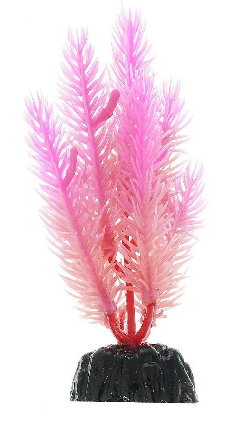 Растение для аквариума пластиковое, светящееся в темноте, Barbus, Plant 058 (20 см) фото