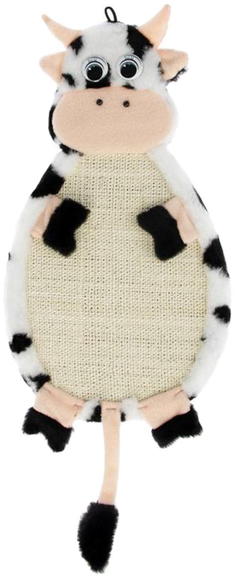 Когтеточка Коровка подвесная Зооник ткань сизалевая 53 х 29 х 3 см  (1 шт)