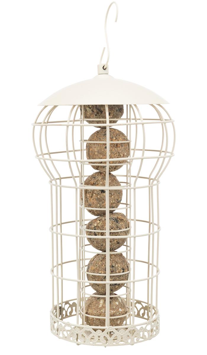 Кормушка уличная для птиц Trixie кремовая 17 х 30 см (1 шт)