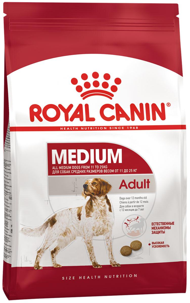 Royal Canin Medium Adult для взрослых собак средних пород (3 + 3 кг)