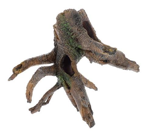 Декор грот для аквариума Коряга, 21 х 11 х 16,5 см, Barbus, Decor 027 (1 шт)
