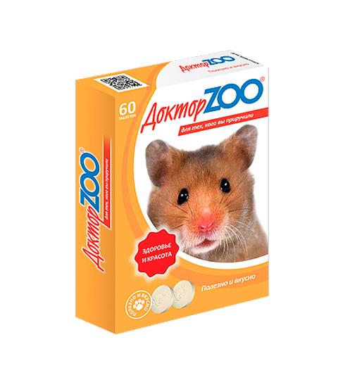 Доктор Zoo мультивитаминное лакомство для грызунов (60 таблеток) фото
