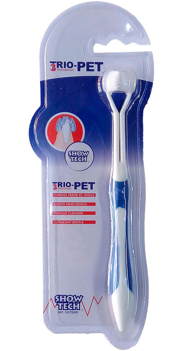 Show Tech Trio Pet Toothbrush зубная щетка