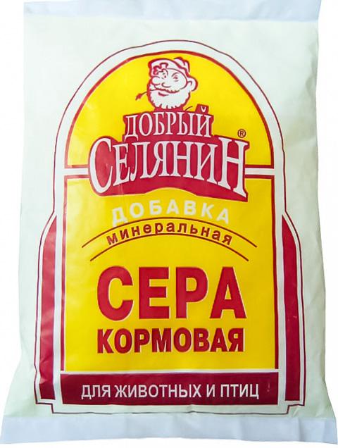 Сера кормовая минеральная добавка для животных и птиц Добрый Селянин (1 кг) фото