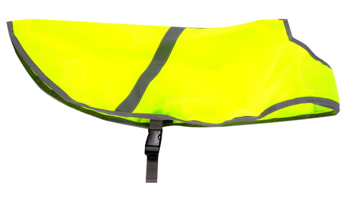 Osso Fashion попона сигнальная для собак желтая (45)