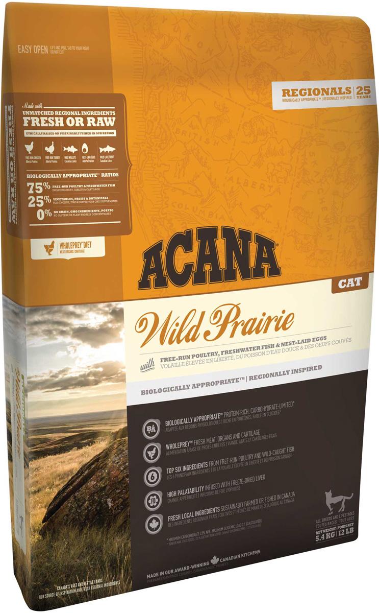 Acana Regionals Wild Prairie Cat беззерновой для кошек и котят всех пород с курицей (0,34 кг)