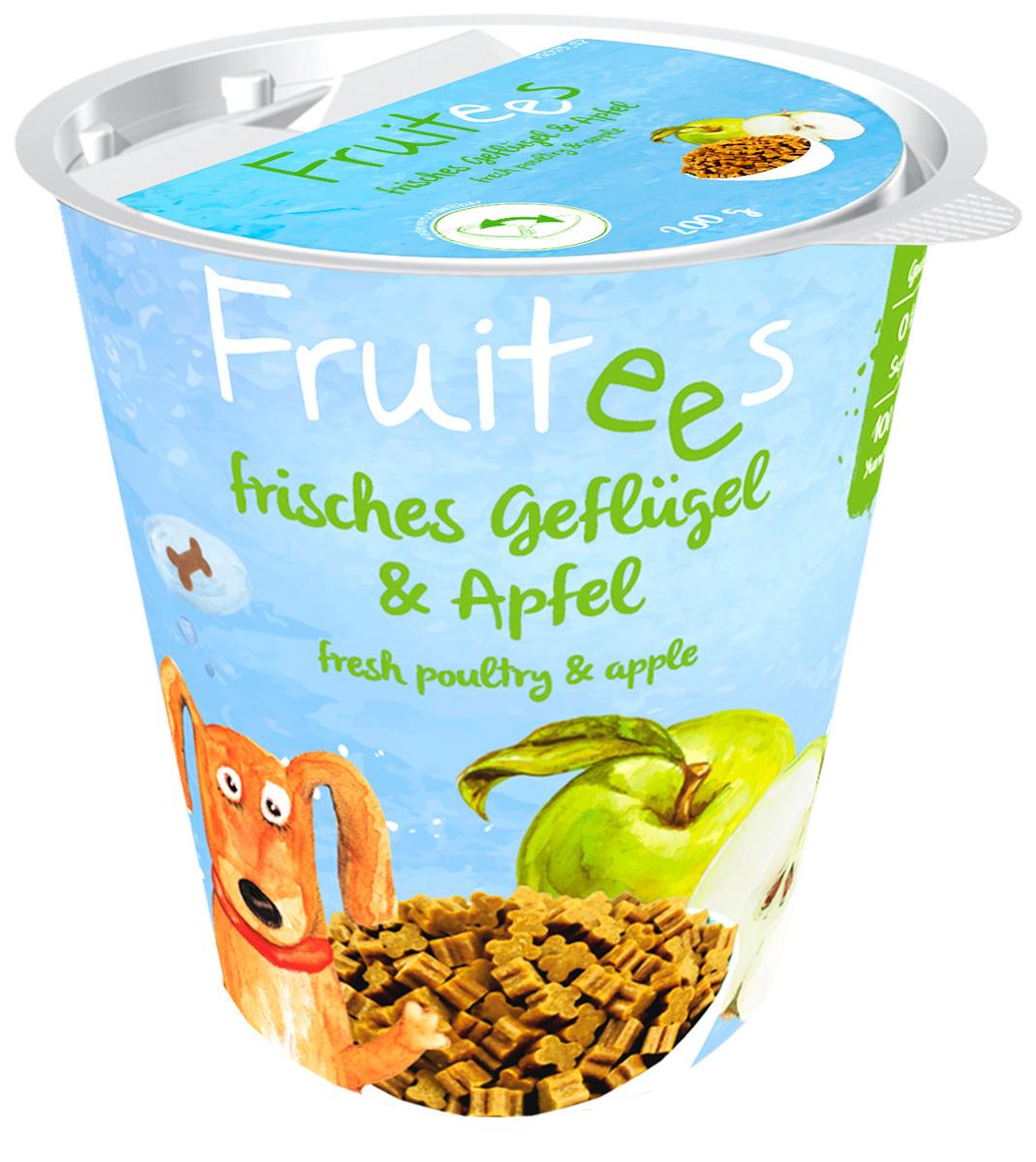 Лакомство Bosch Fruitees полувлажное для собак с птицей и яблоком 200 гр (1 шт)