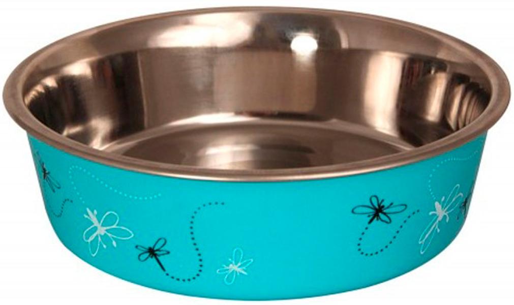 Triol миска из нержавеющей стали для собак «Стрекоза» (0,45 л)