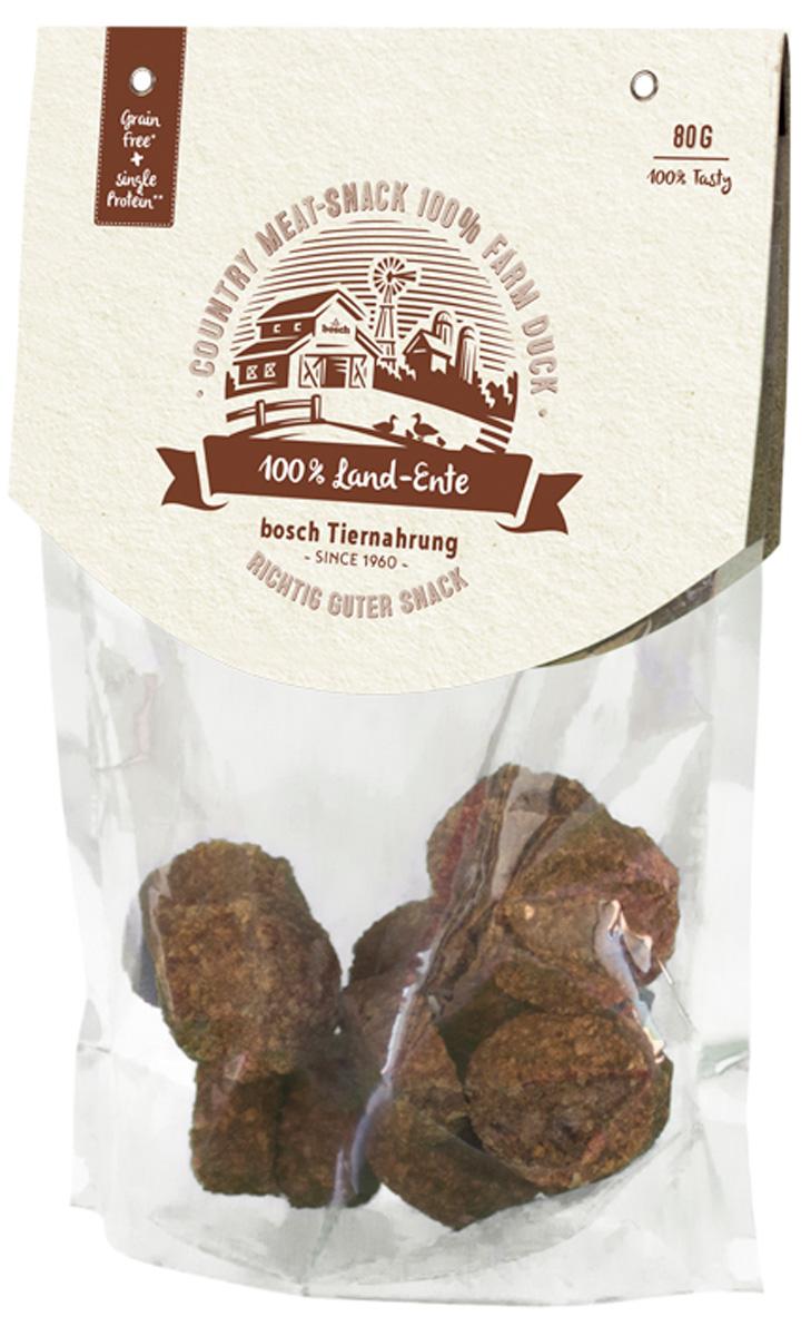 Лакомство Bosch Country Meat Snack для собак с уткой 80 гр (1 шт)