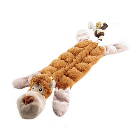 Игрушка для собак Обезьяна с 19 пищалками 34 см GiGwi (1 шт)