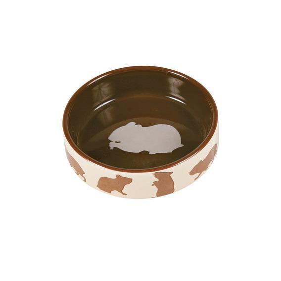 Trixie миска керамическая для мелких грызунов