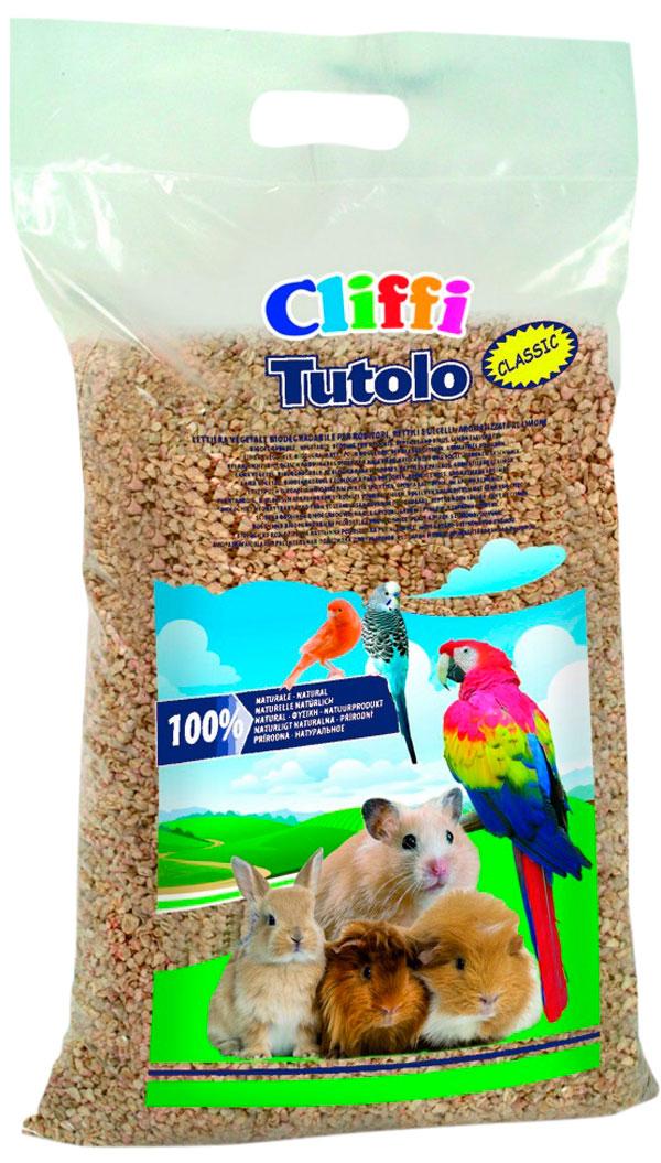 Cliffi Tutolo Naturale кукурузный наполнитель для грызунов