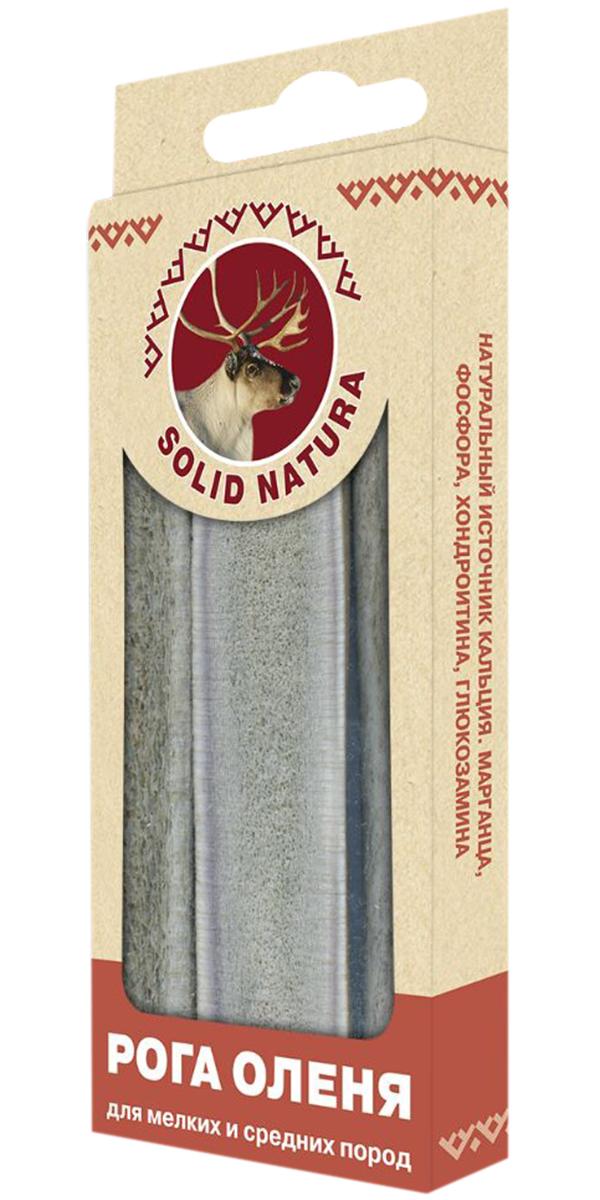 Лакомство Solid Natura для собак маленьких и средних пород рога оленя (50 гр)