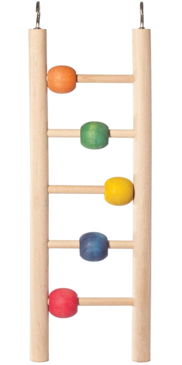 Игрушка для птиц Triol Лестница с шариками