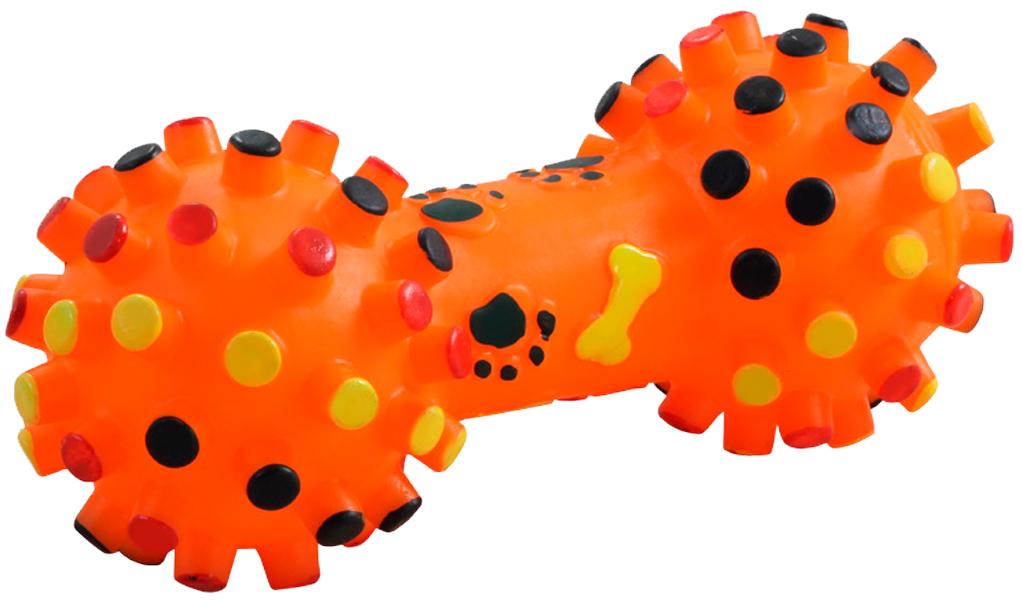 Triol игрушка для собак «Гантель с шипами», 16,5 см (1 шт)