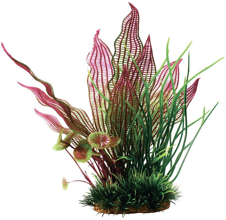 Композиция из пластиковых растений для аквариума Prime Pr-60211 20 см (1 шт) 0 pr на 100