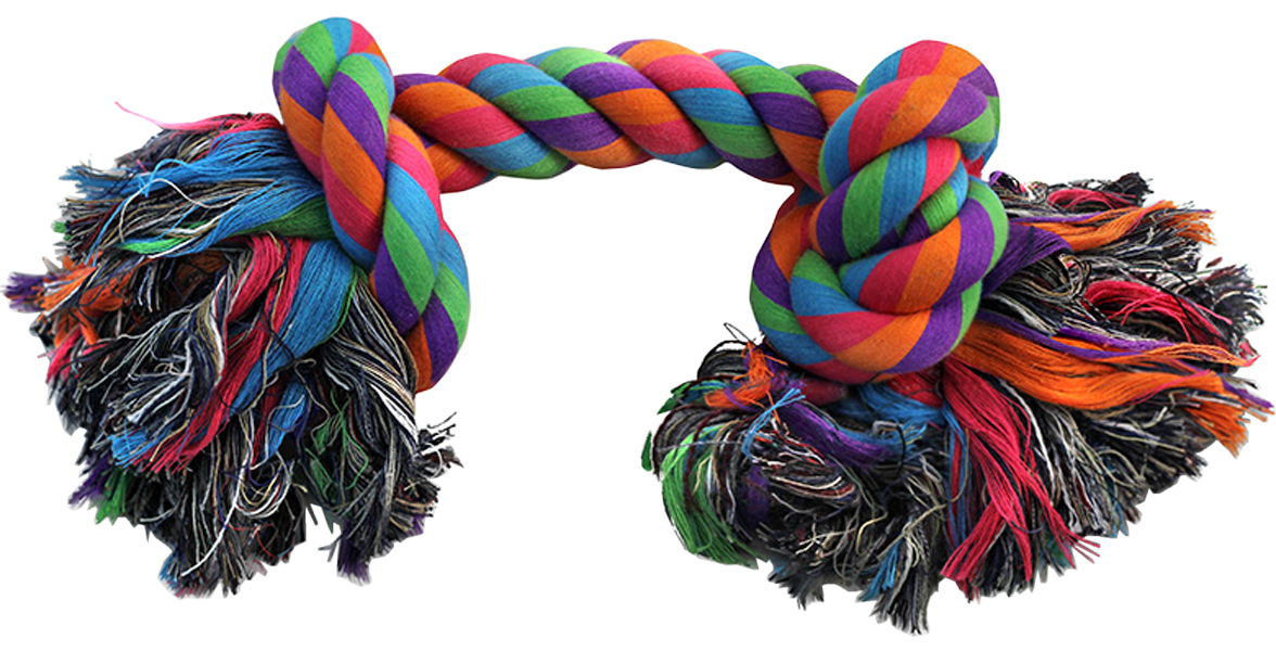 Игрушка для собак Triol Веревка 2 узла 18 см (1 шт)