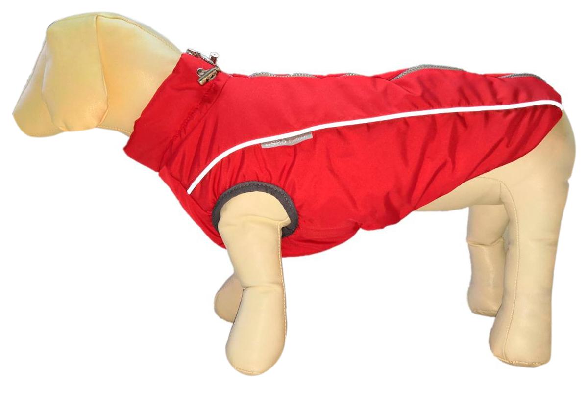 Osso Fashion жилет зимний для собак средних и крупных пород Аляска красный (40-2)
