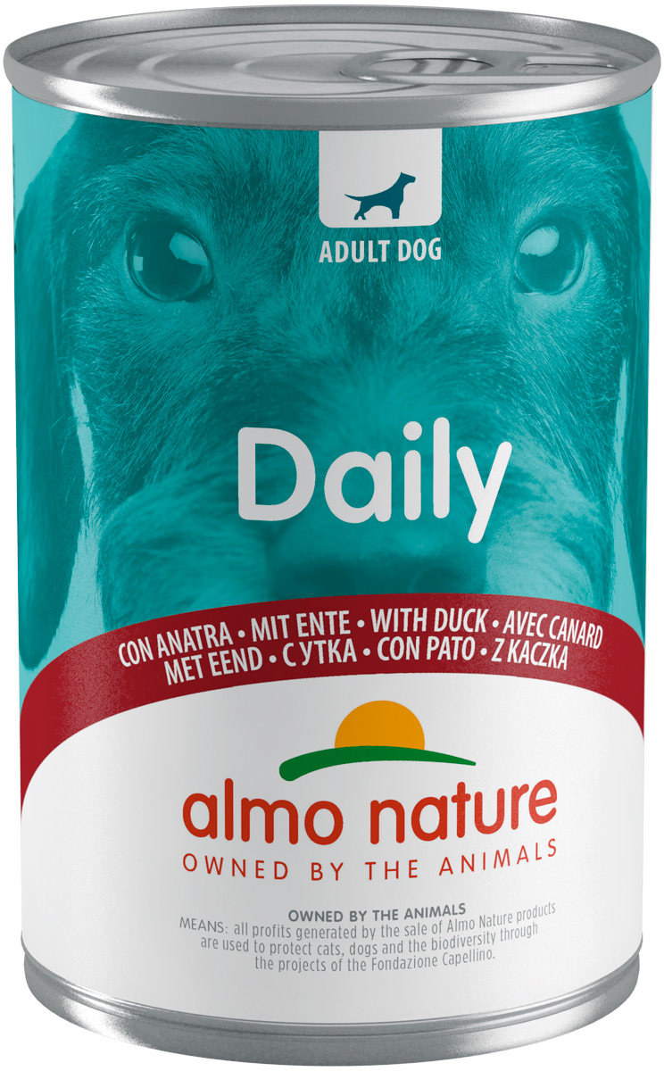 Almo Nature Dog Daily Menu для взрослых собак с уткой 400 гр (400 гр)