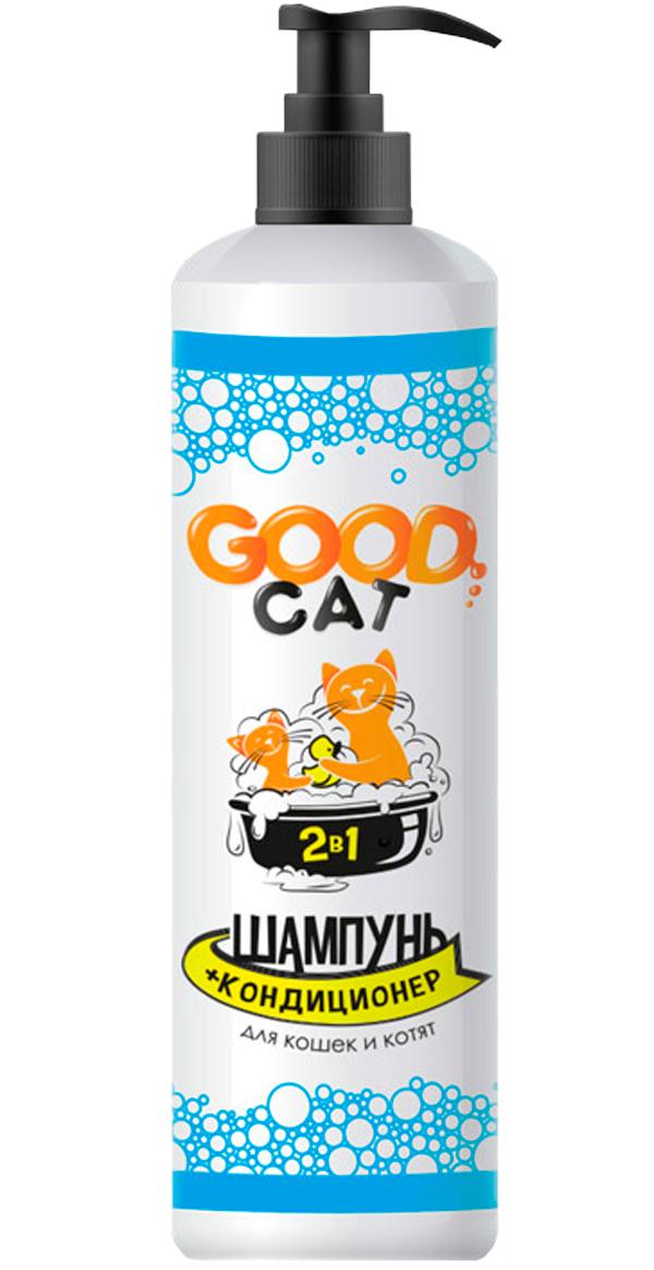 Good Cat 2 в 1 шампунь кондиционер