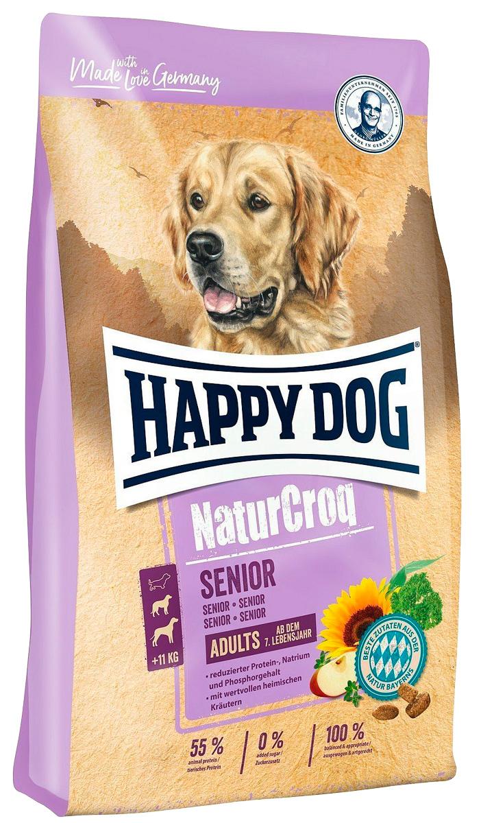 Happy Dog Naturcroq Senior для пожилых собак всех пород (15 кг) happy dog naturcroq senior для пожилых собак всех пород 15 кг