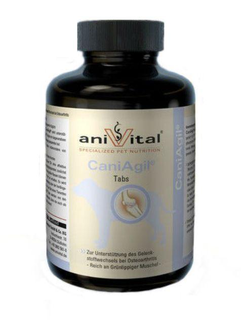 Картинка - Anivital Caniagil – Анивитал Каниагил витаминно-минеральный комплекс для собак для суставов и связок (60 таблеток)
