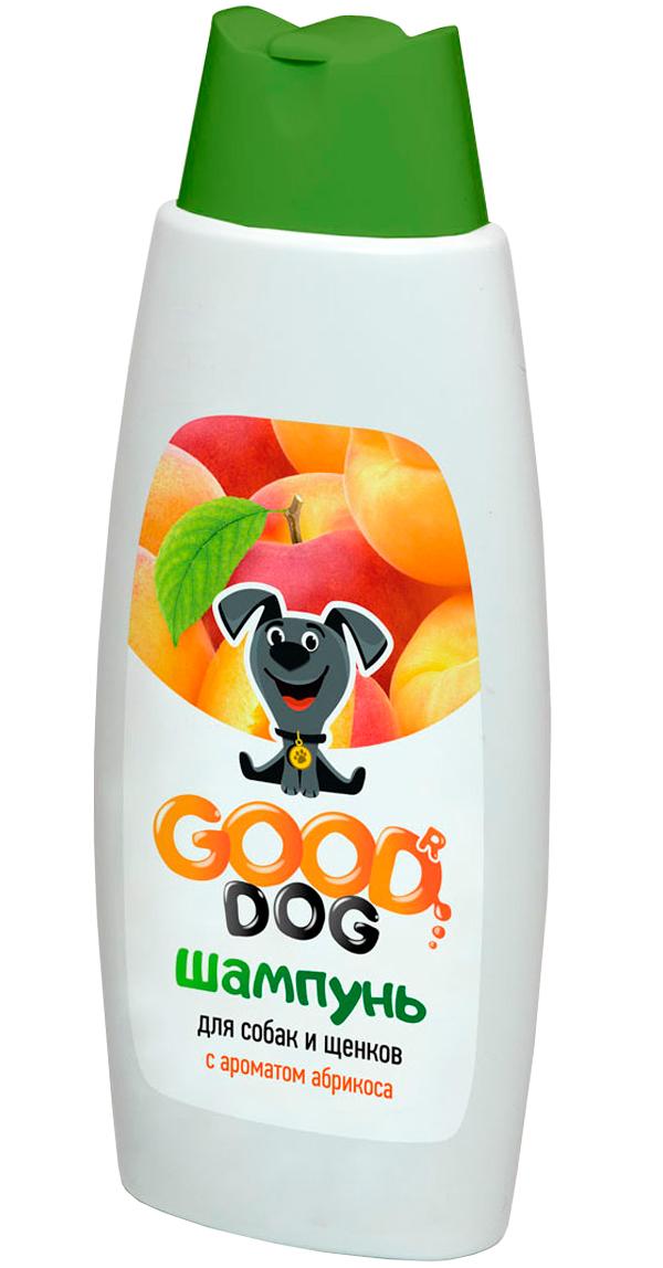 Good Dog шампунь для собак и щенков с ароматом абрикоса (250 мл)